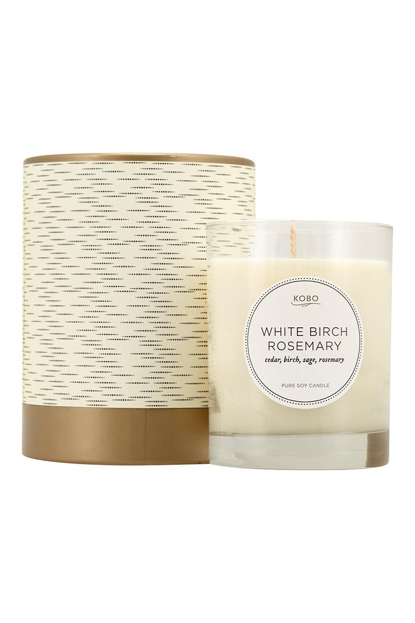 Ароматическая свеча White Birch Rosemary, 312гр.