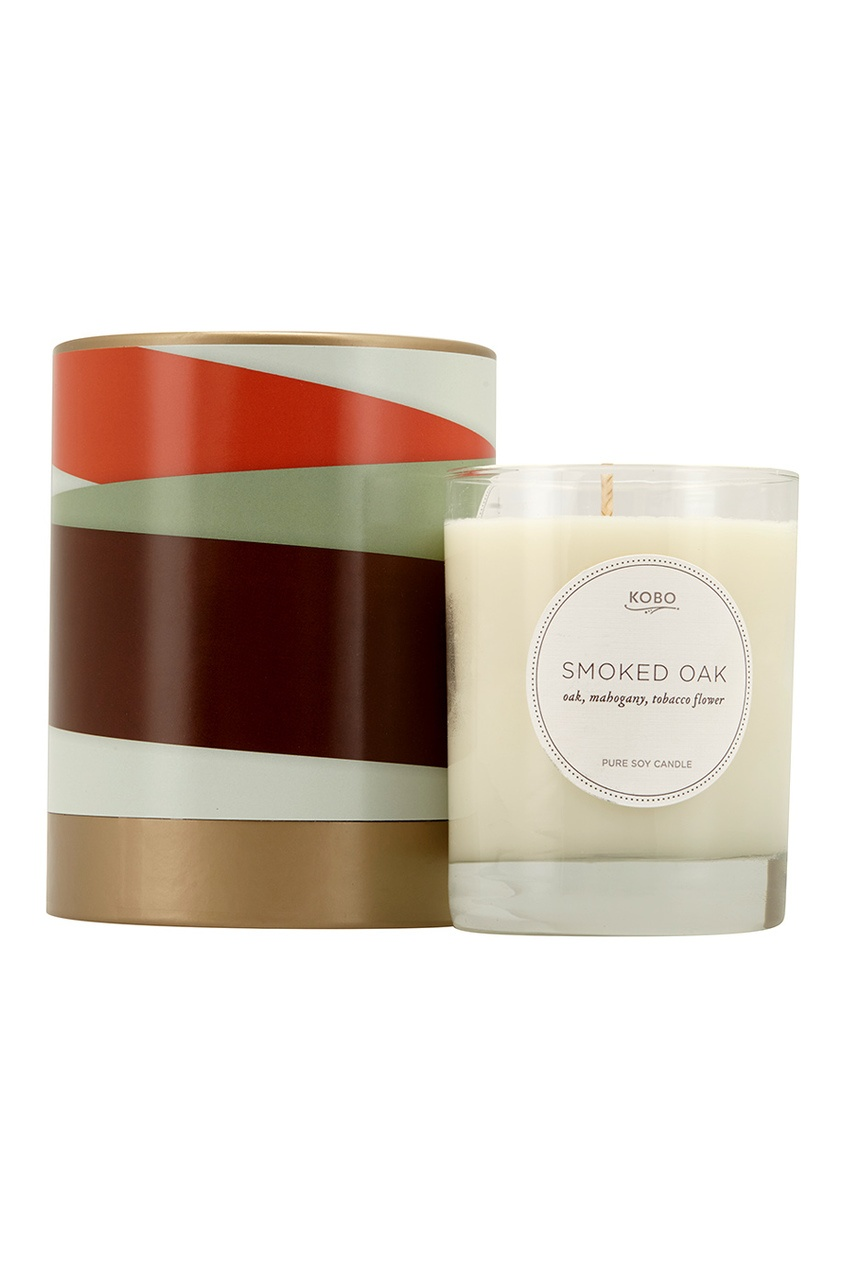 Ароматическая свеча Smoked Oak, 312гр.