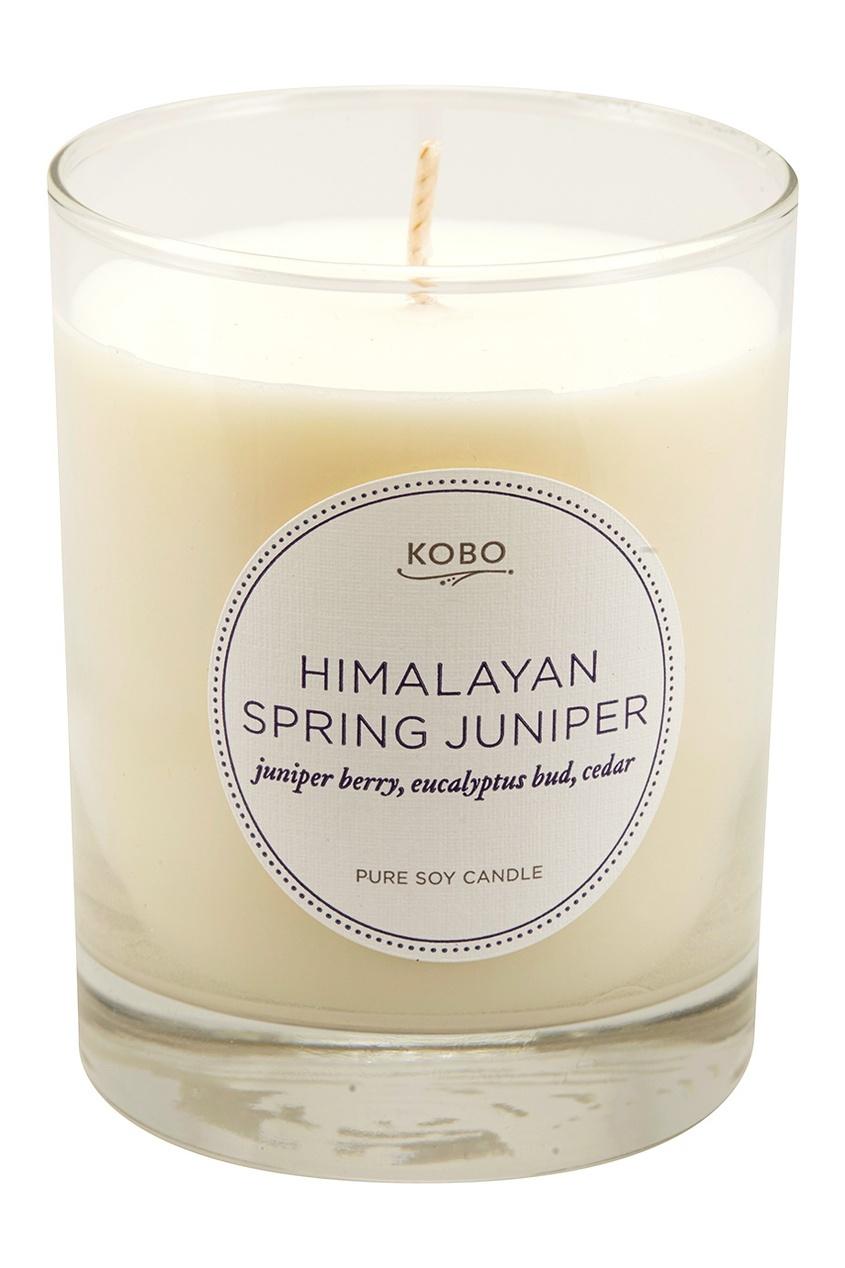 все цены на  Kobo Candles Ароматическая свеча Himalayan Spring Juniper, 312гр.  в интернете