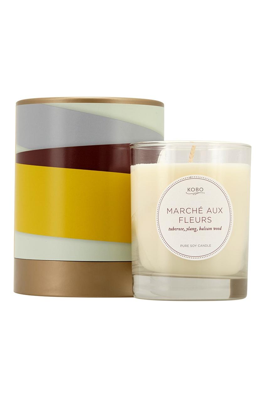 Kobo Candles Ароматическая свеча Marche Aux Fleurs, 312гр.