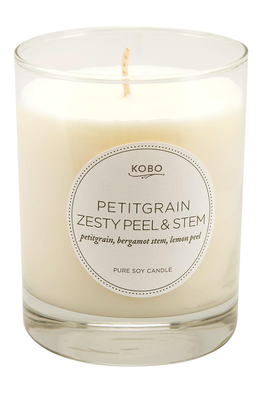 Kobo Candles Ароматическая свеча Petitgrain Zesty Peel & Stem, 312гр.