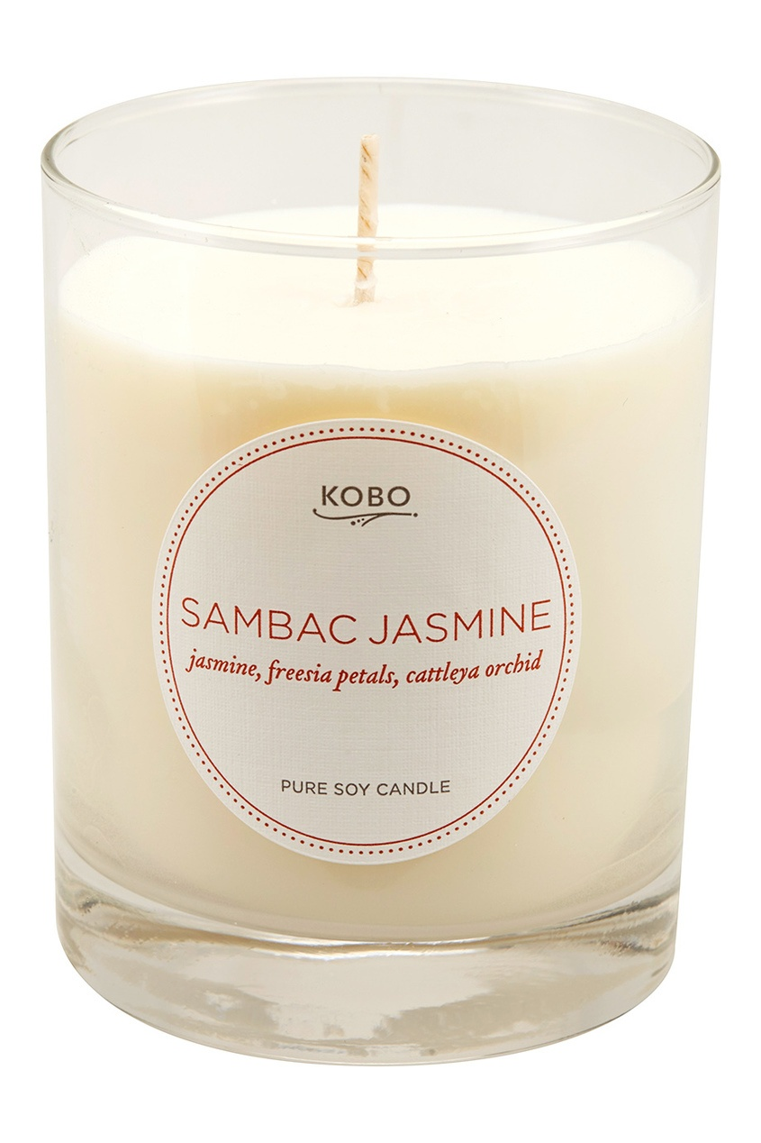 Kobo Candles Ароматическая свеча Sambac Jasmine, 312гр.