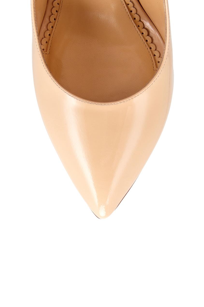 Туфли из лакированной кожи Pat Monroe