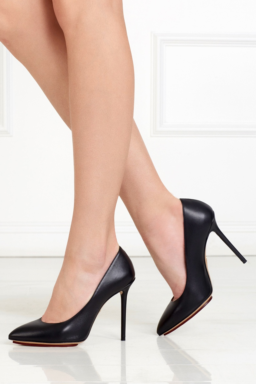 Кожаные туфли Nap Monroe
