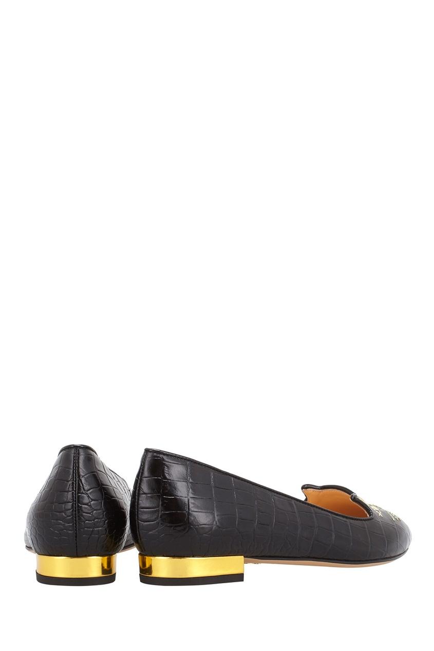 Кожаные туфли Mid-Century Kitty