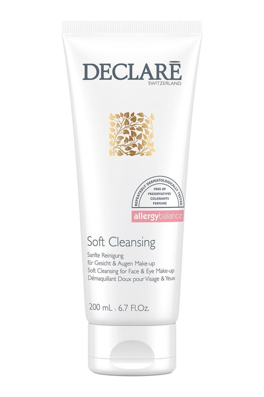 Очищающий гель для снятия макияжа Soft Cleansing For Face & Make-up, 200ml