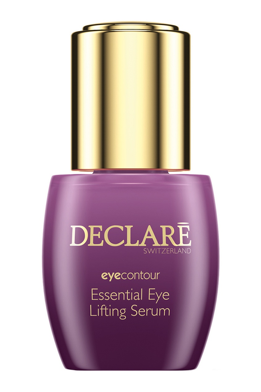 Declare Интенсивная лифтинг-сыворотка для кожи вокруг глаз Eye Lifting Serum, 15ml declare восстанавливающий гель для кожи вокруг глаз с массажным эффектом perfect eye fluid 15 мл