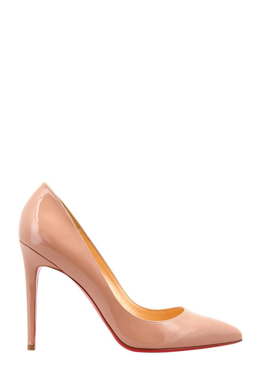 Туфли из лакированной кожи Pigalle 100 Patent Calf