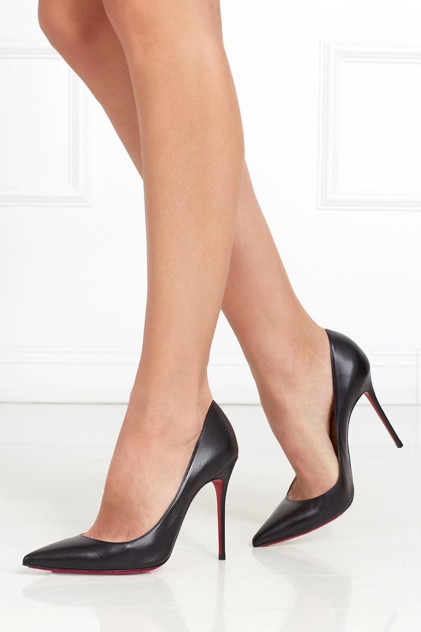 Кожаные туфли Decollete 100