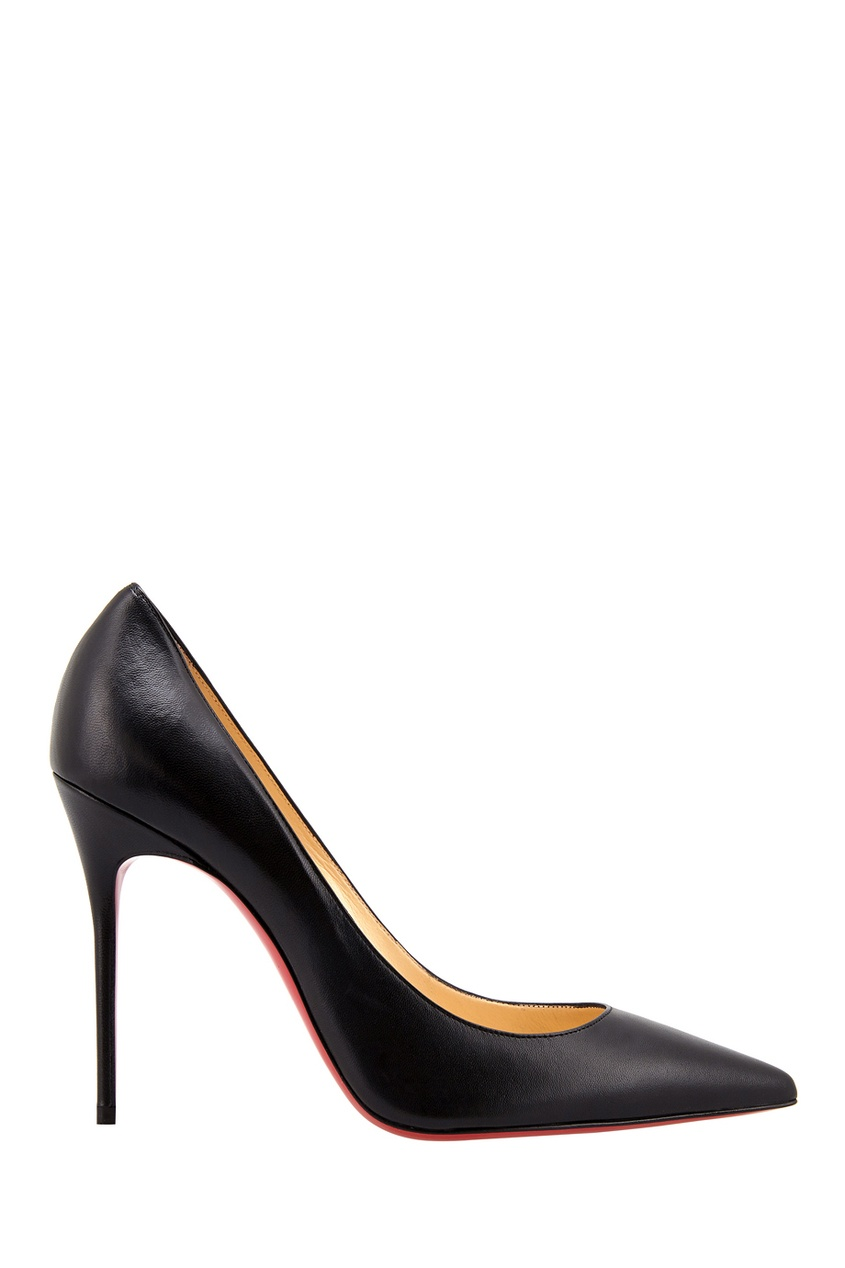 Кожаные туфли Decollete 554 100