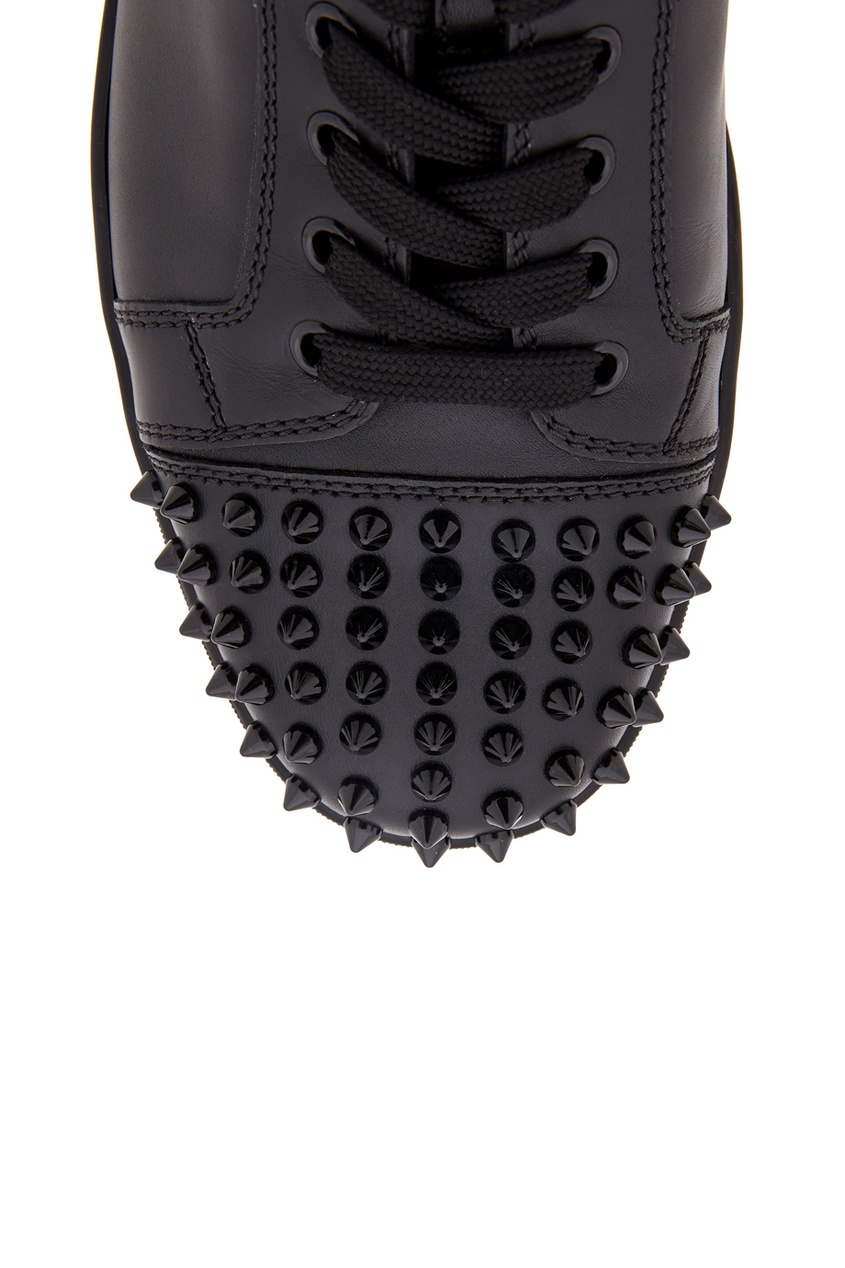 Кожаные кеды Louis Junior Spikes Flat
