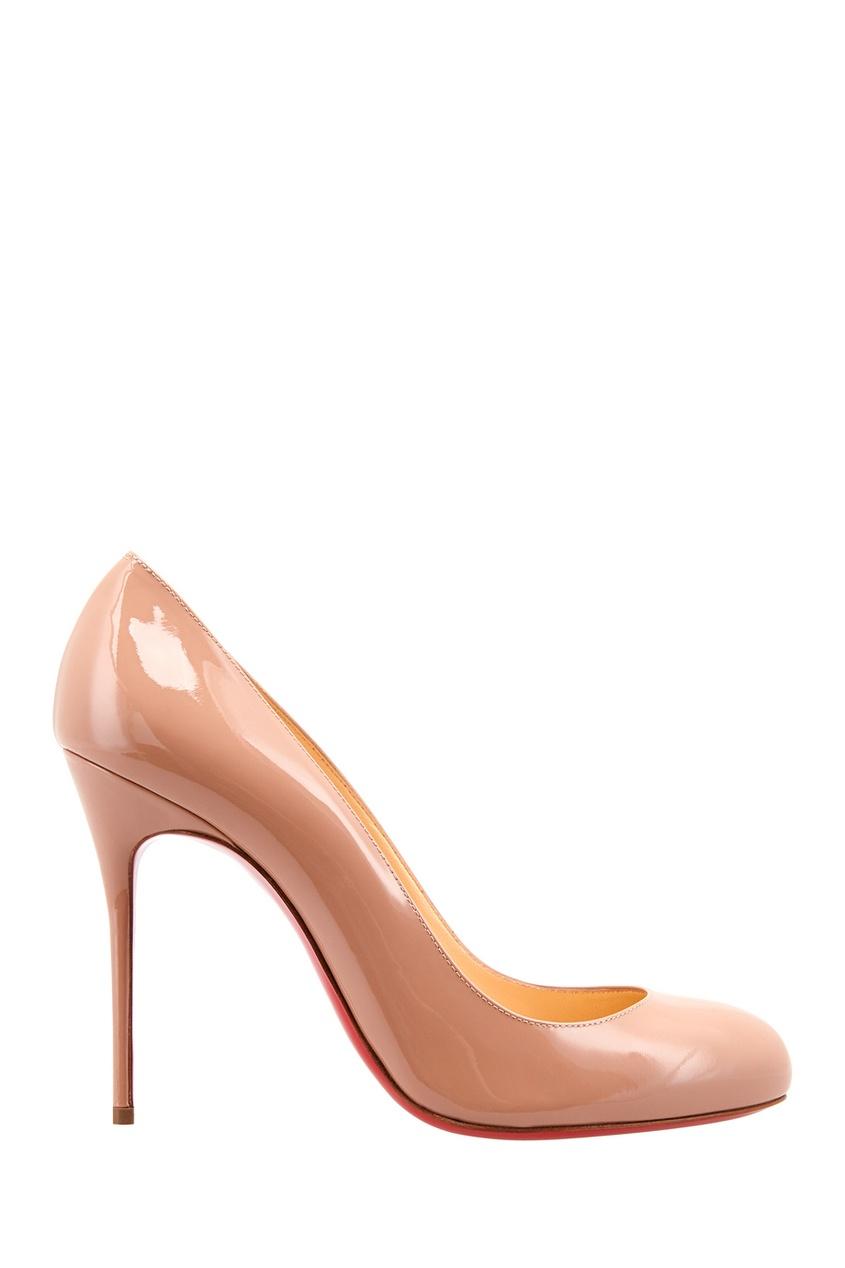 Туфли из лакированной кожи Fifi 100