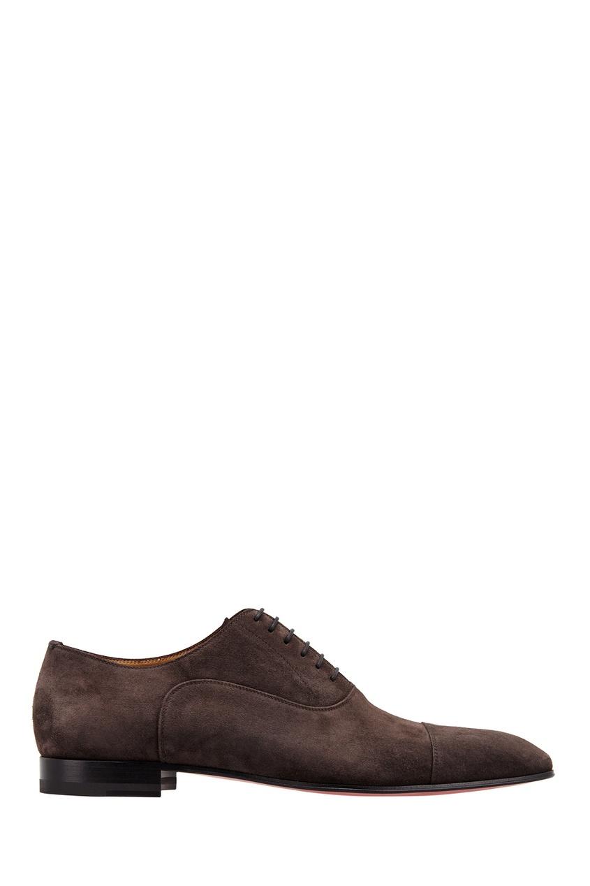 Замшевые туфли Greggo Flat Veau Velours