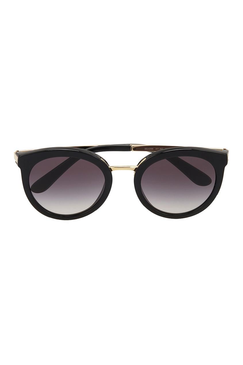 Dolce&Gabbana Солнцезащитные очки vogue vogel очки черного кадра серебряного покрытия линза мода полной оправе очки vo5067sd w44s6g 56мм