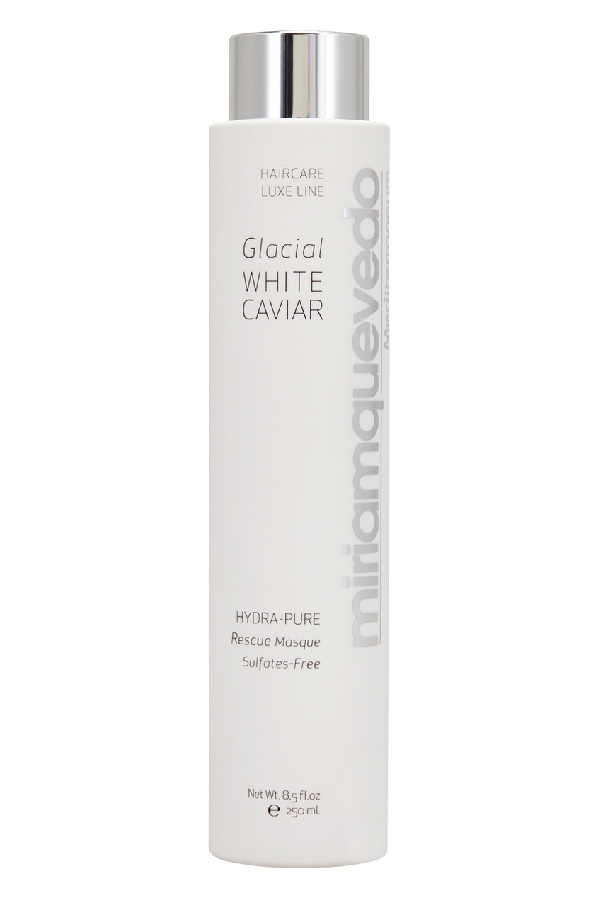Miriamquevedo Маска для волос Glacial White Caviar Hydra Pure Rescue 250ml