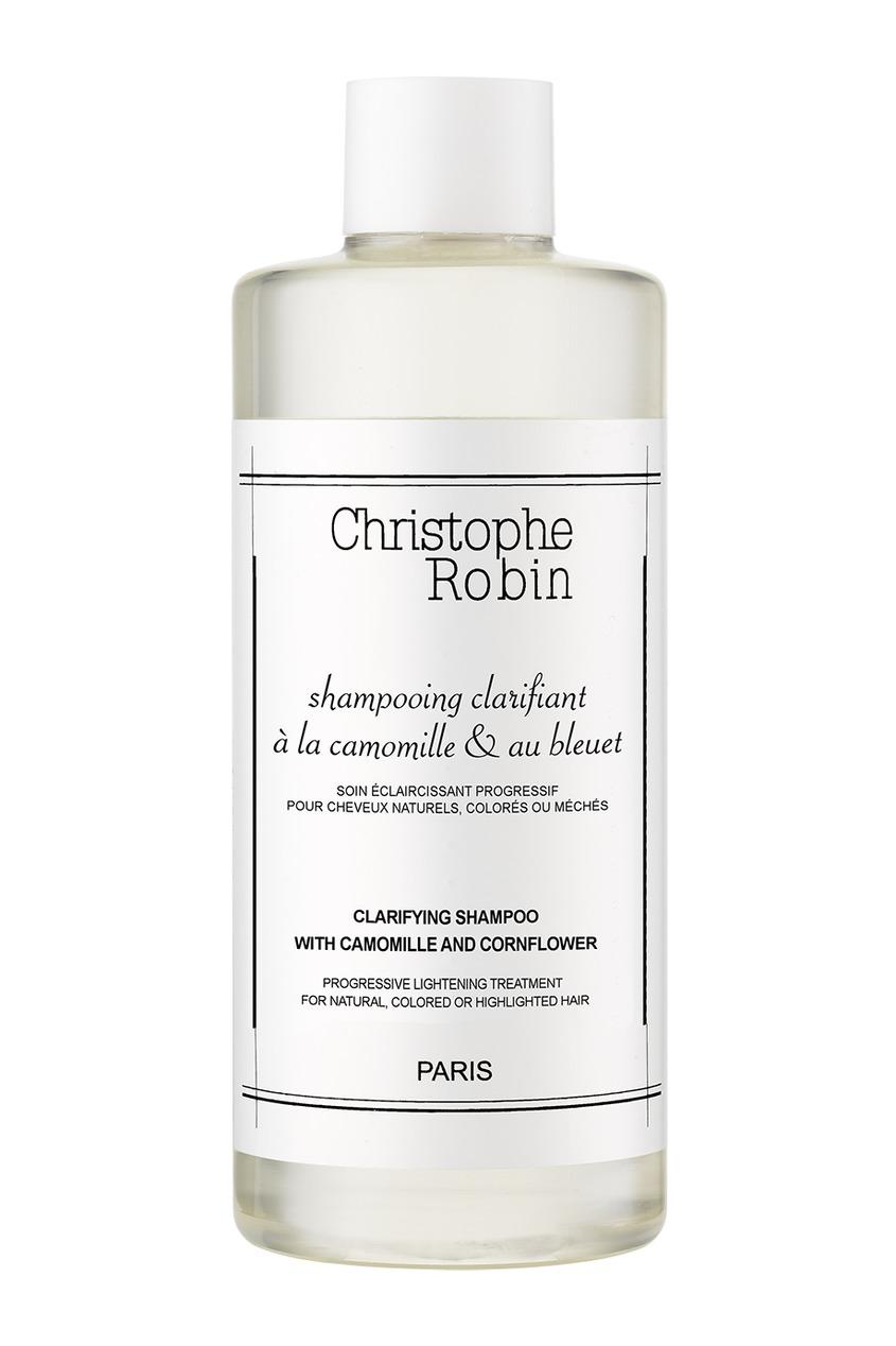 Фото - Осветляющий шампунь с экстрактами ромашки и василька Clarifying Shampoo, 250ml от Christophe Robin цвет multicolor