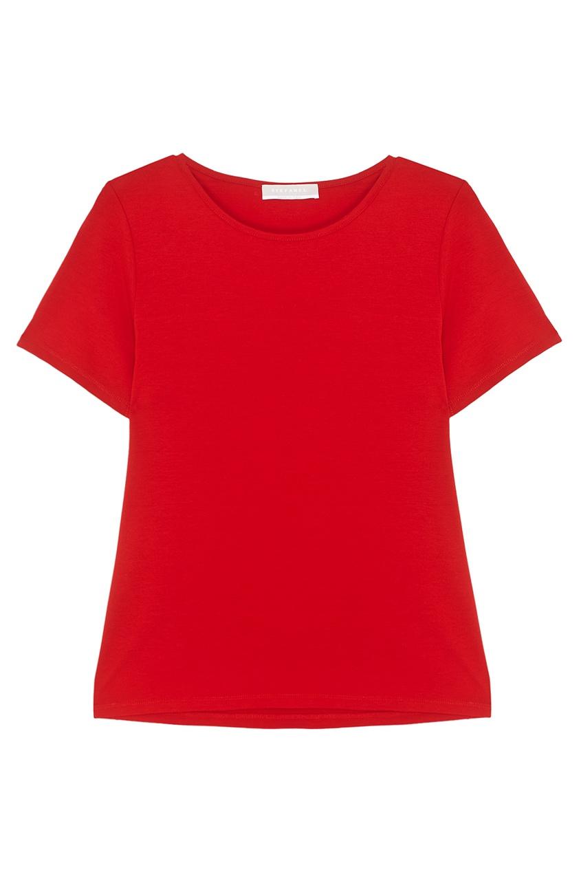 Stefanel Однотонная футболка