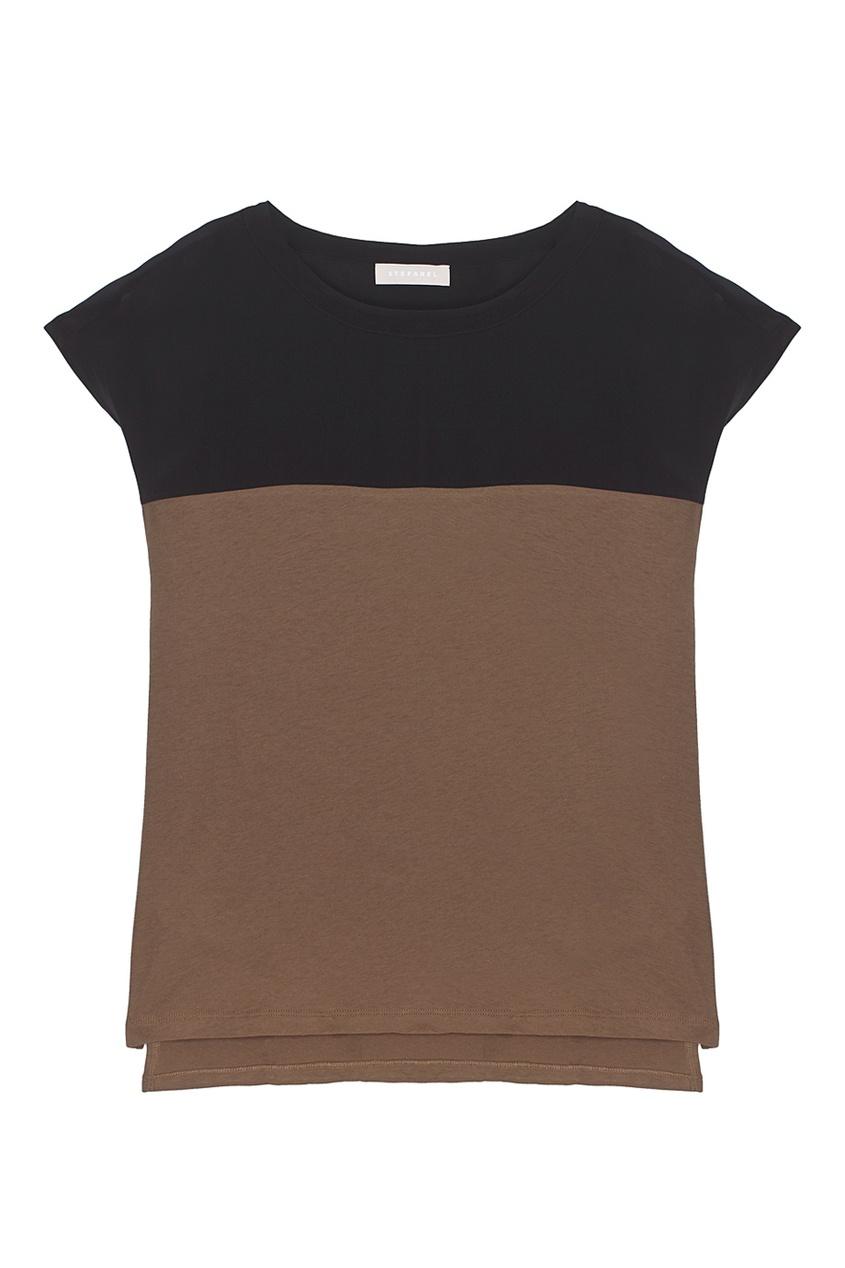 Stefanel Хлопковая футболка