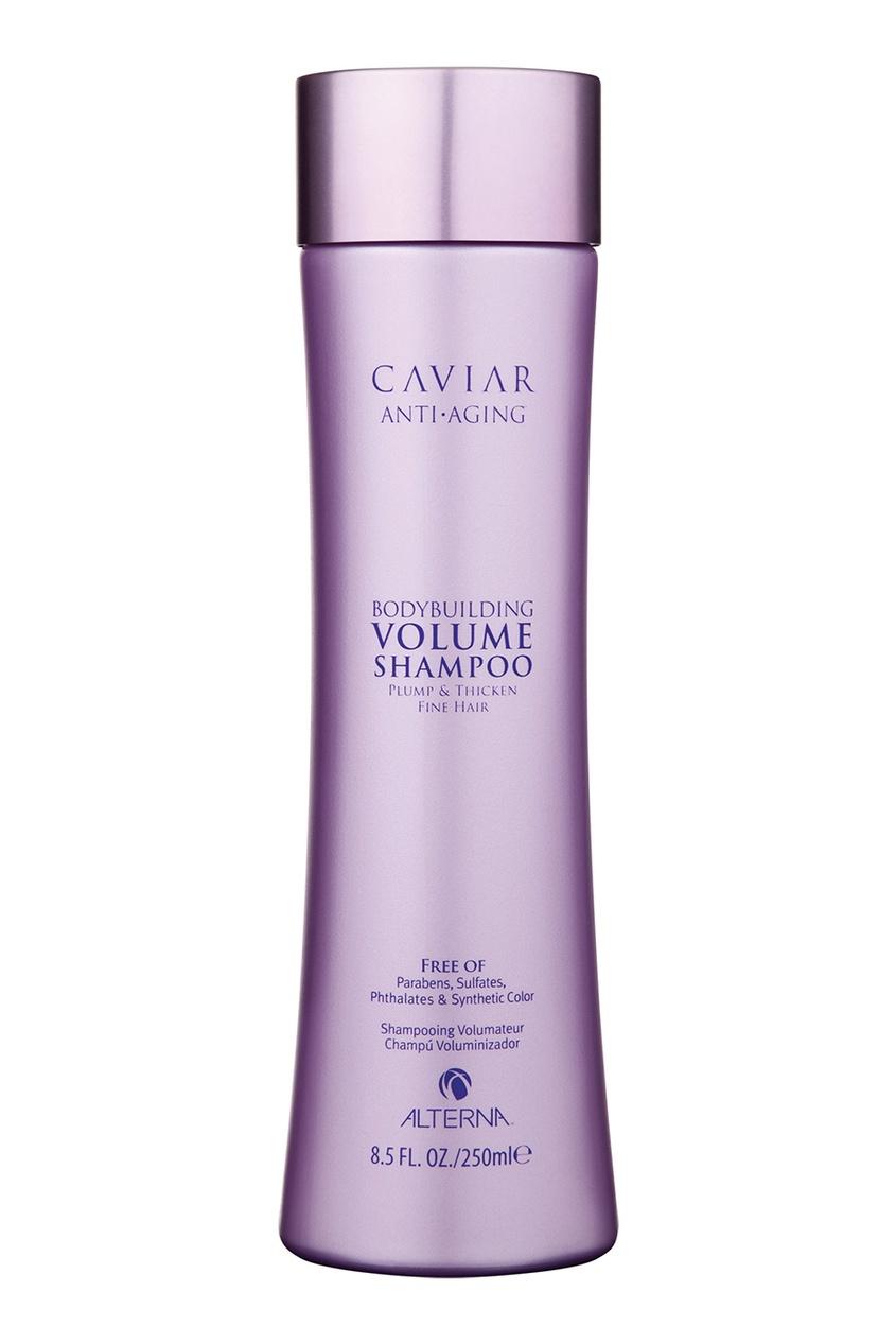 Alterna Шампунь для объема волос Caviar Bodybuilding Volume 250ml alterna увлажняющий шампунь c морским шелком caviar anti aging replenishing moisture shampoo 40 мл