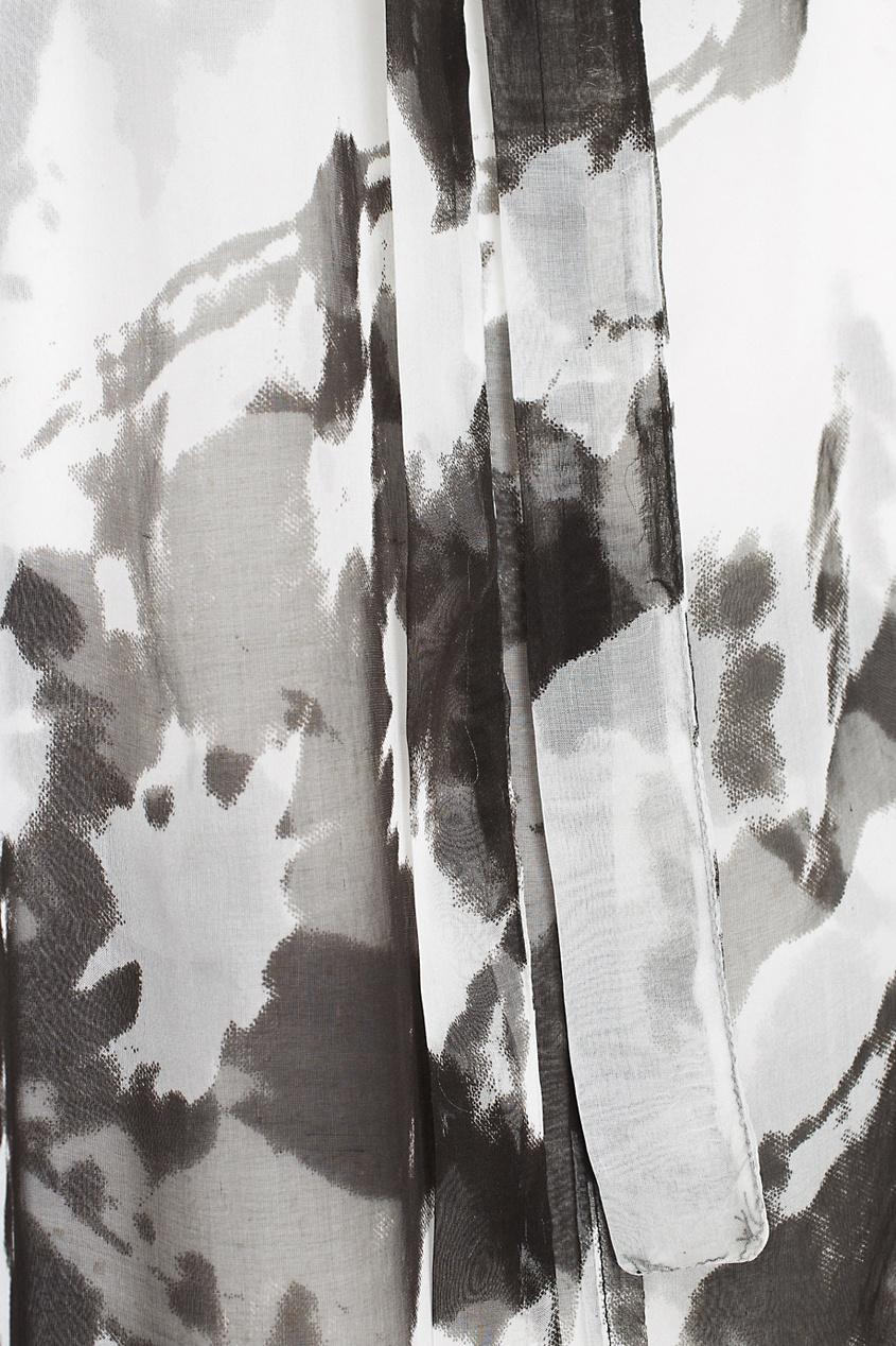 Полупрозрачный халат
