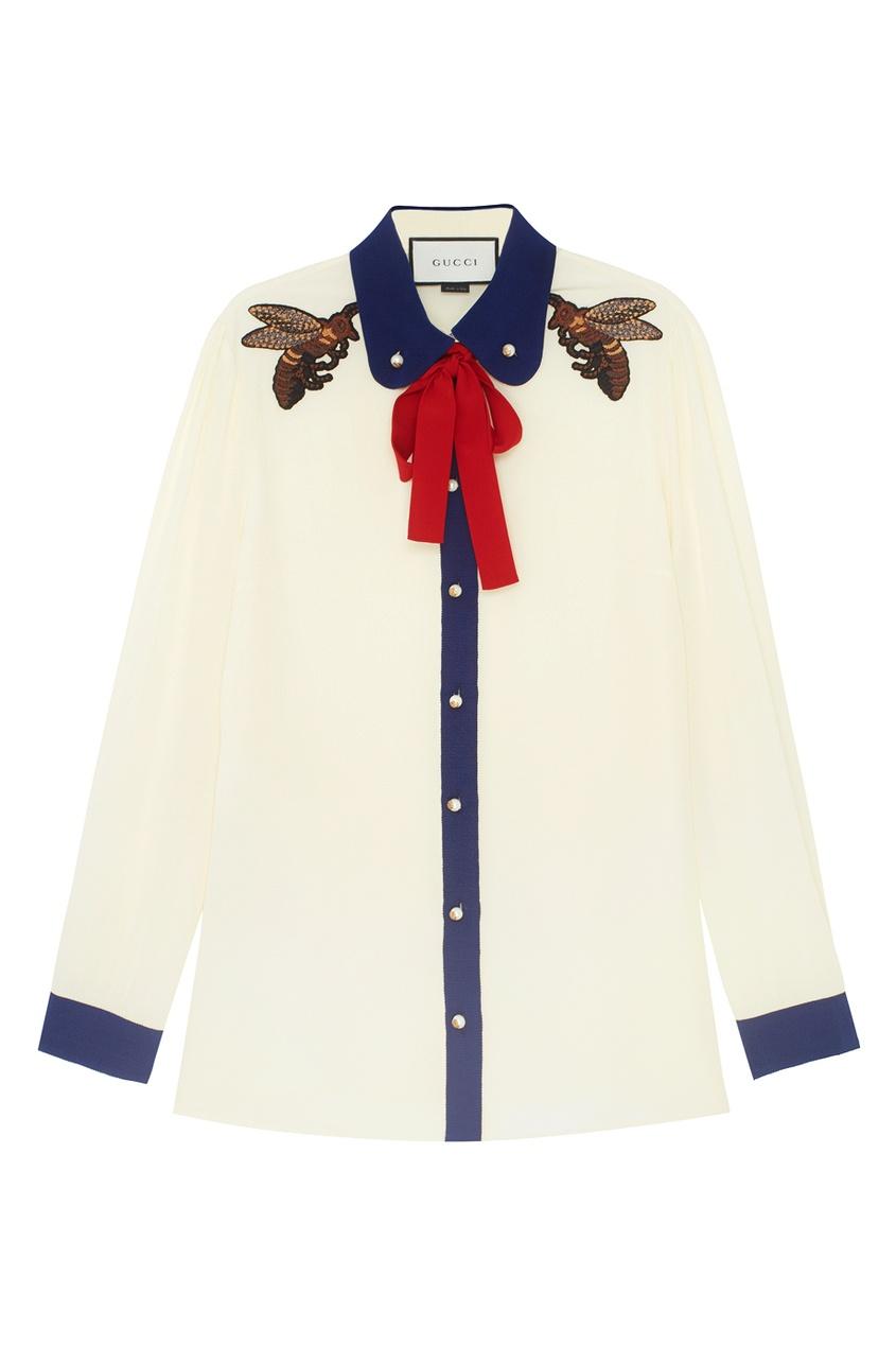 Gucci Шелковая блузка