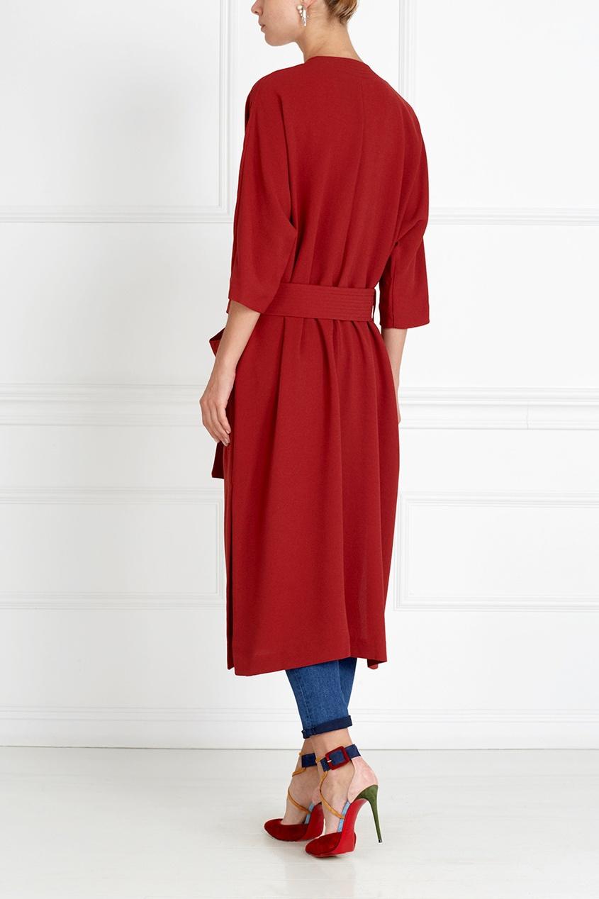 Однотонное пальто Wake Robe