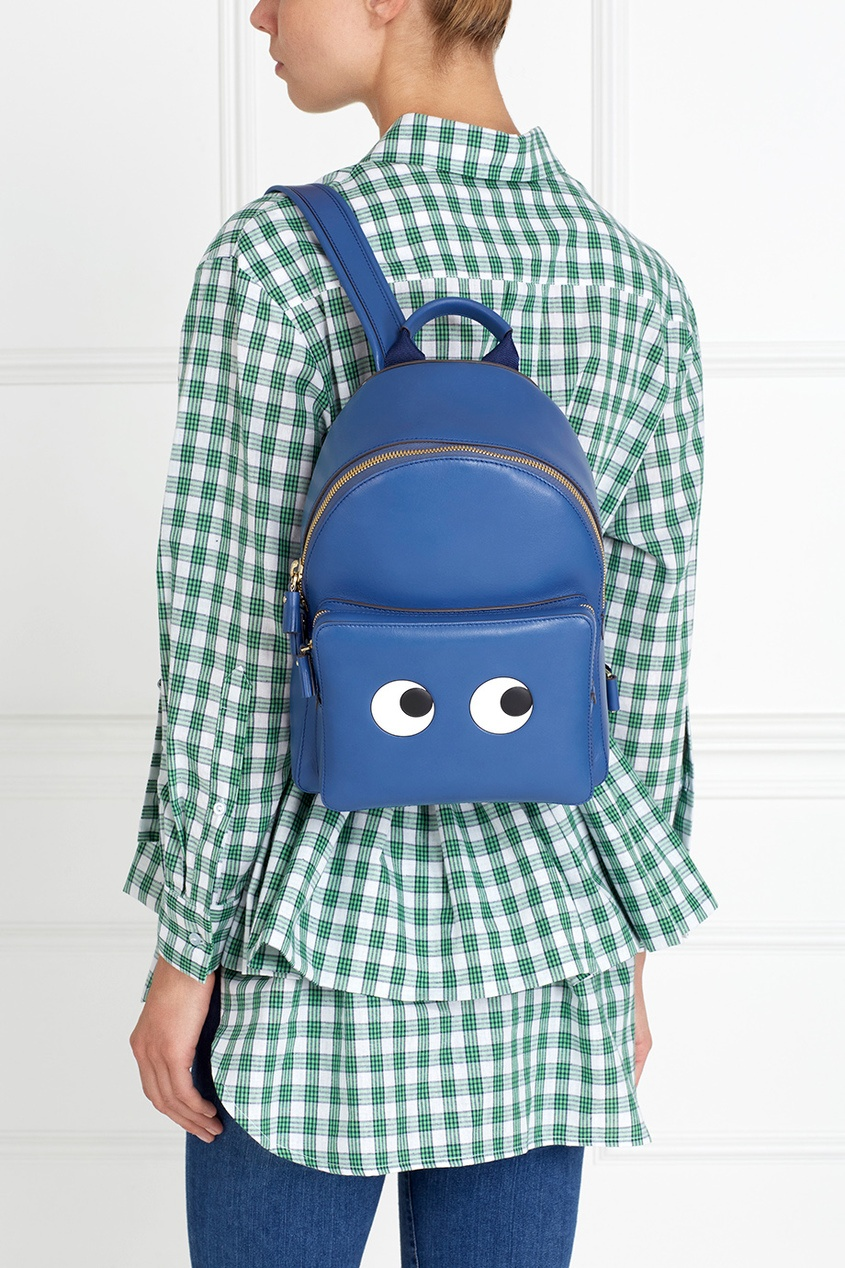 Кожаный рюкзак Mini Eyes Right