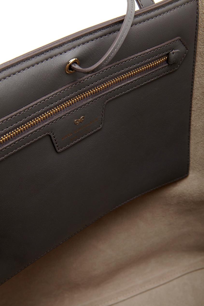 Кожаная сумка Ebury Tote Smiley