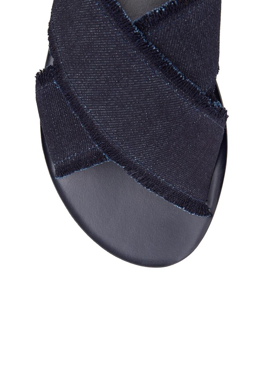 Кожаные сандалии Thais Denim