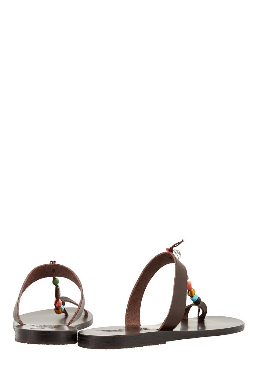 Кожаные сандалии Iris Stones
