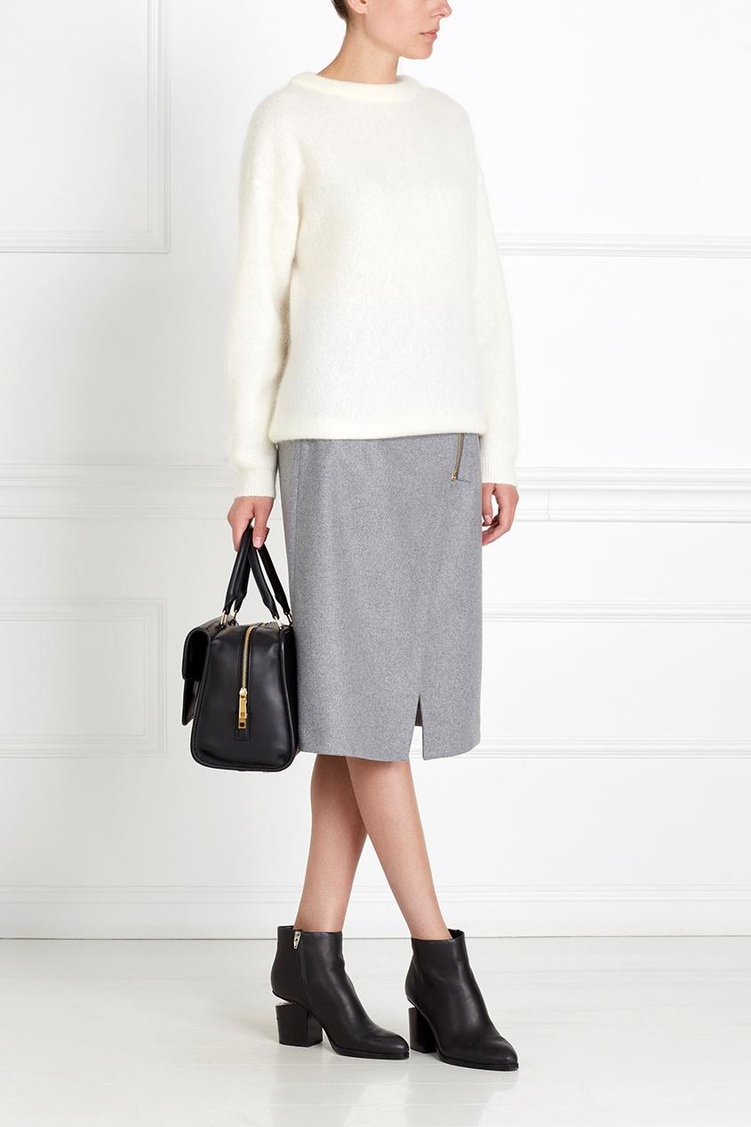 Acne Studios Шерстяная юбка Panna Wool