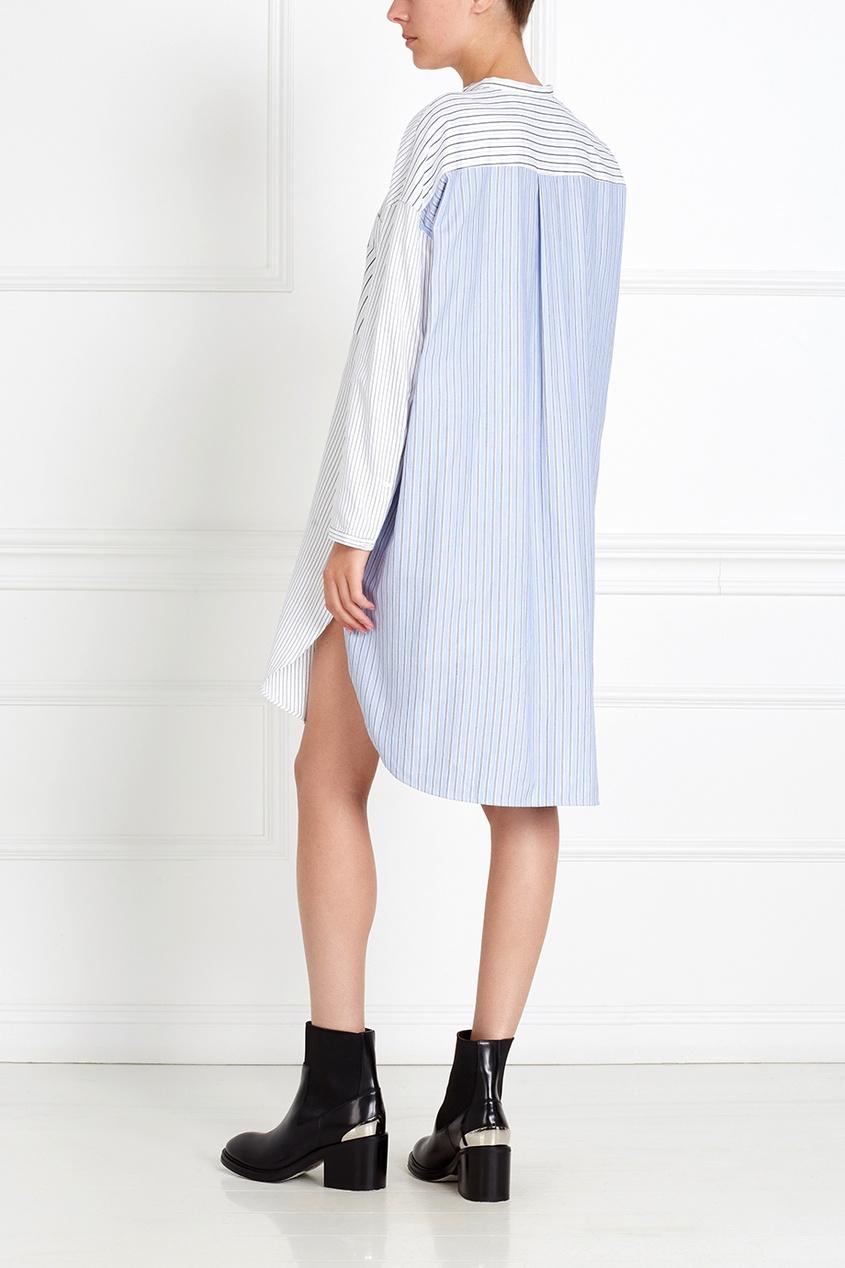 хлопковое-платье-esloane-stripe