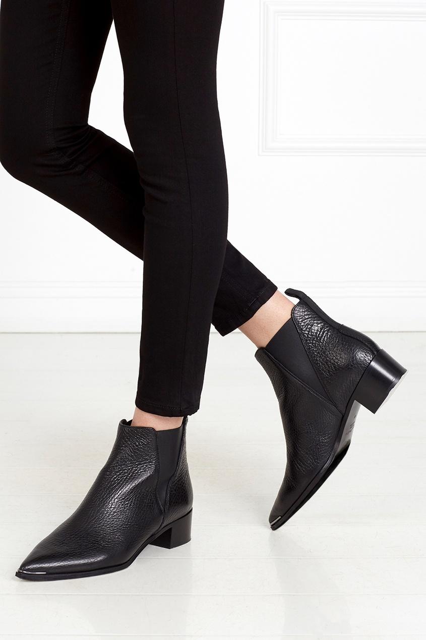 Кожаные ботинки Jensen Grain