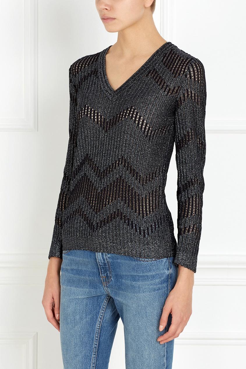 M Missoni Пуловер с металлизированными нитями
