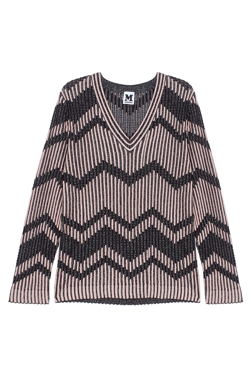 M Missoni Пуловер с люрексом
