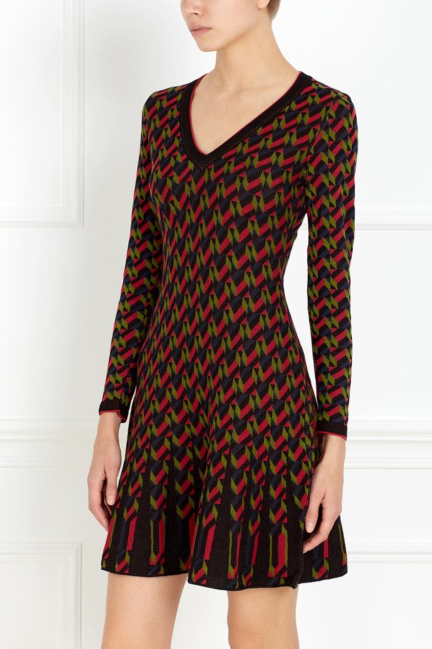 M Missoni Платье с V-образным вырезом