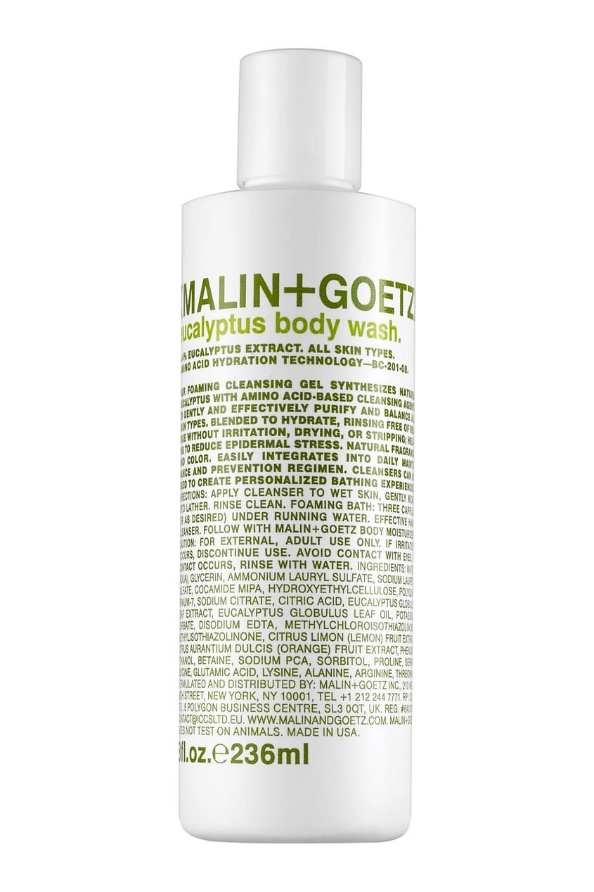 Malin+Goetz Гель для душа «Эвкалипт» 236ml malin goetz гель для умывания grapefruit face cleanser 236ml