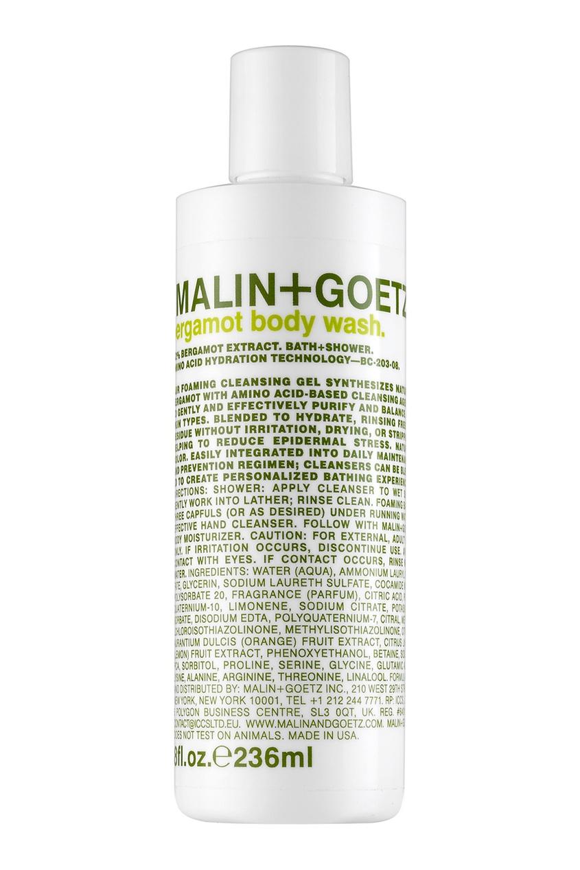 Malin+Goetz Гель для душа «Бергамот» 236ml malin goetz гель для умывания grapefruit face cleanser 236ml