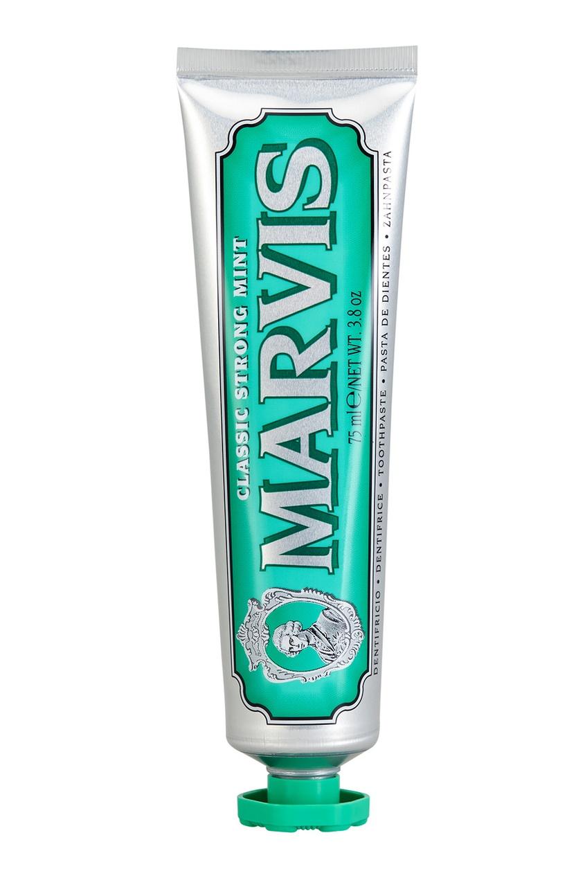 где купить Marvis Зубная паста «Классическая Насыщенная Мята» 75ml по лучшей цене
