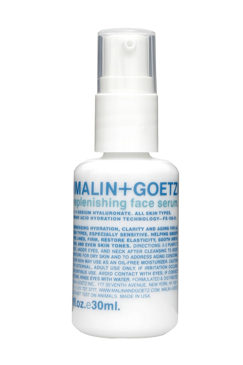 Malin+Goetz Восстанавливающая сыворотка для лица Replenishing Face Serum 30ml lebel cosmetics trie foam 4 пена для укладки волос 200 мл