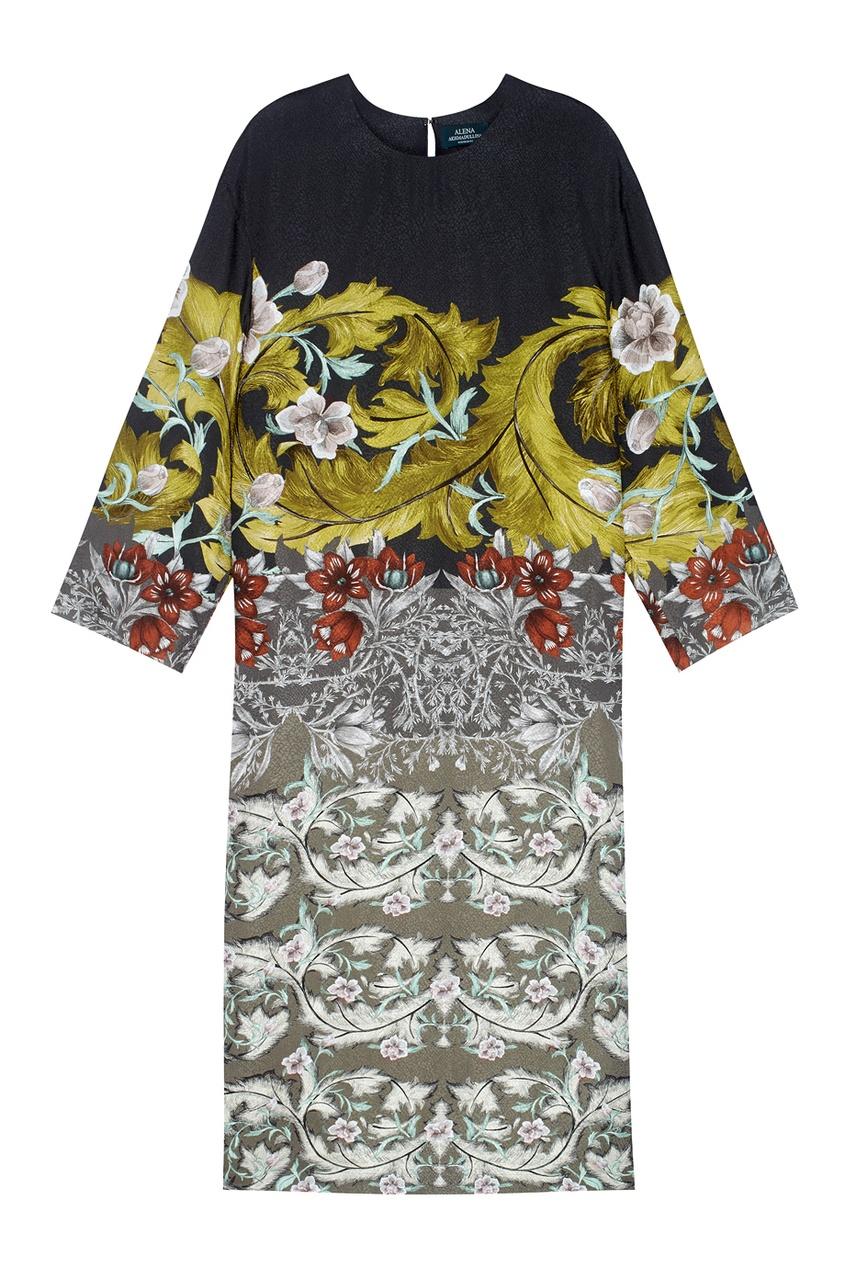 Фото - Платье с принтом от Alena Akhmadullina цвет multicolor