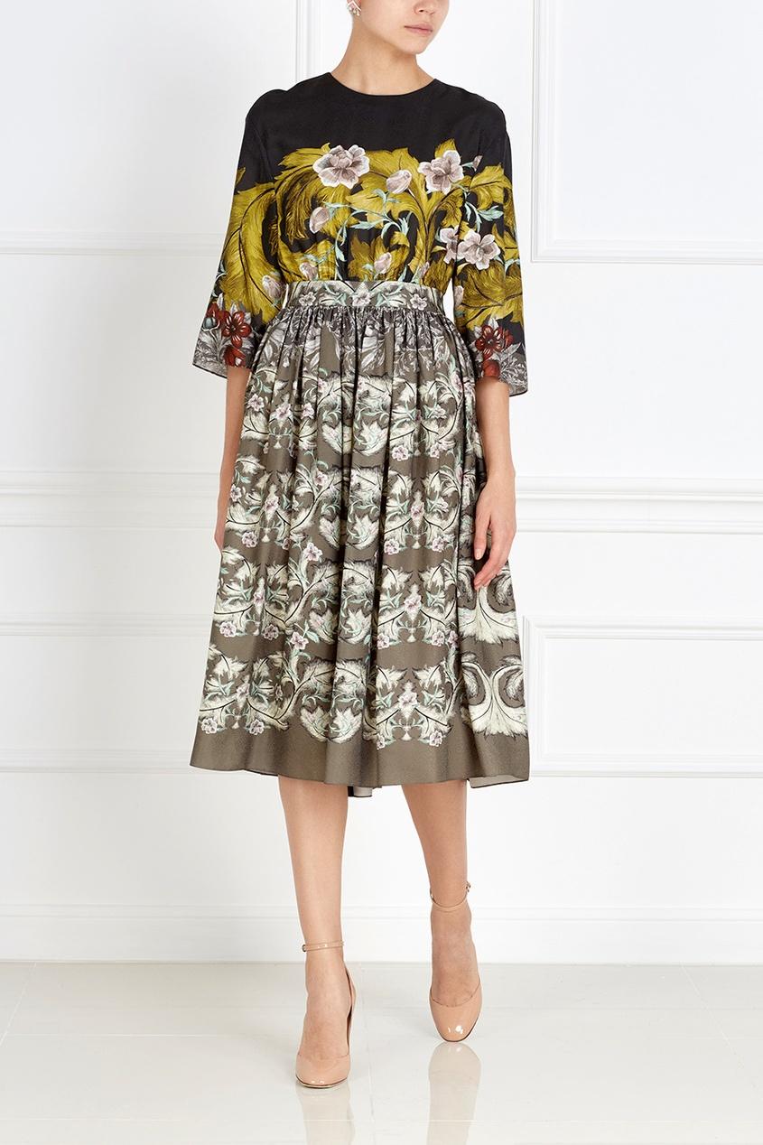 Фото 4 - Платье с принтом от Alena Akhmadullina цвет multicolor