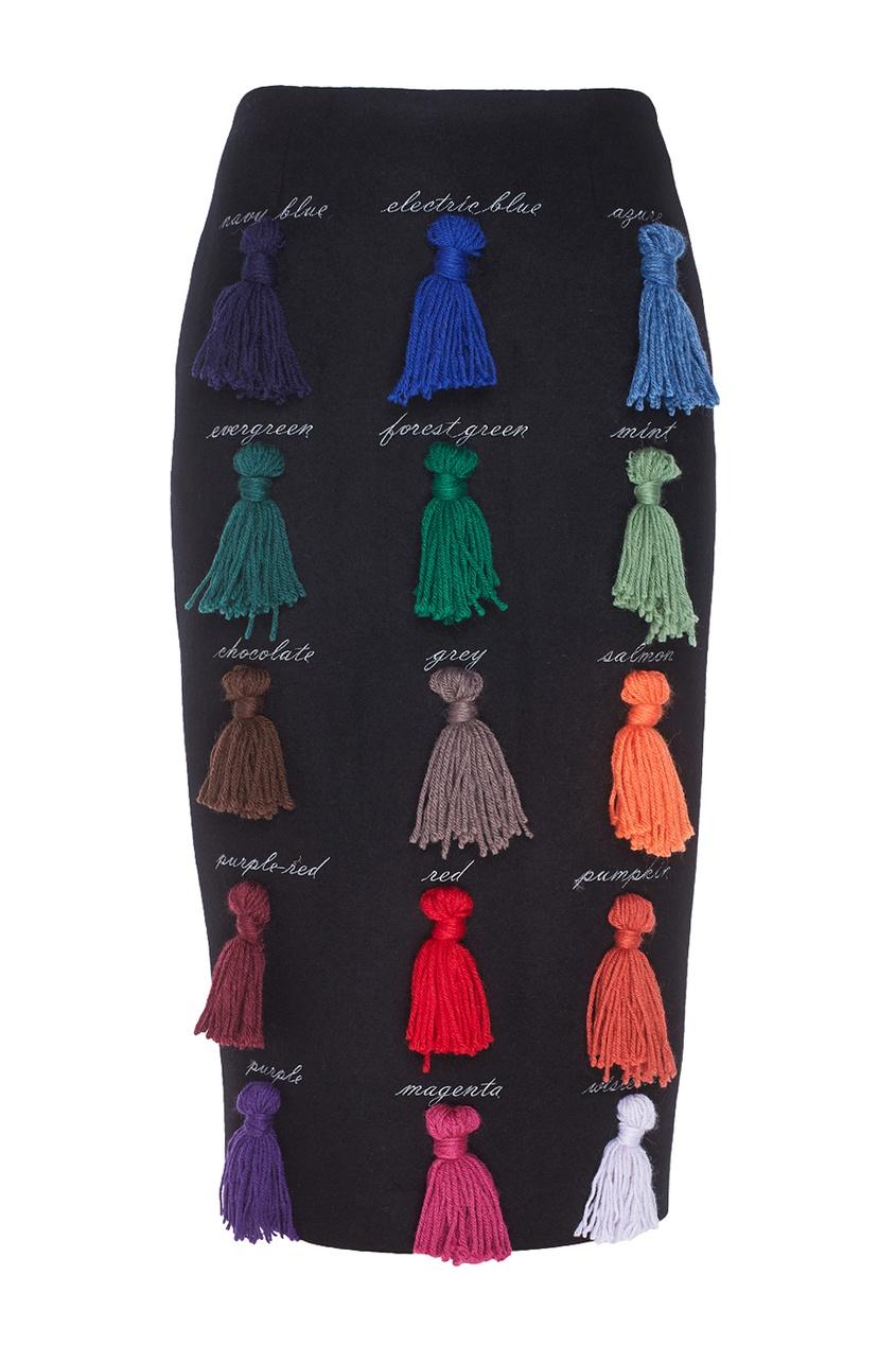 Шерстяная юбка Sapere