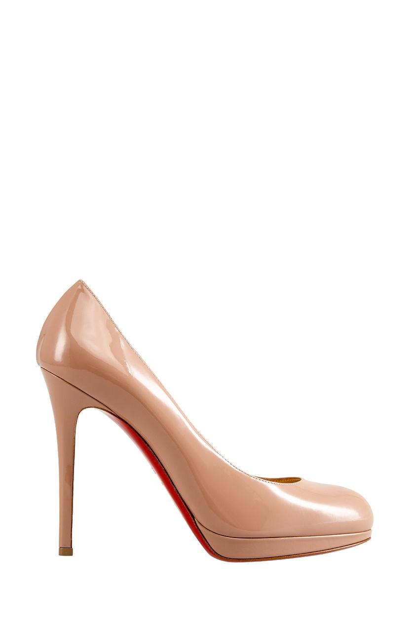 Туфли из лакированной кожи New Simple Pump 120
