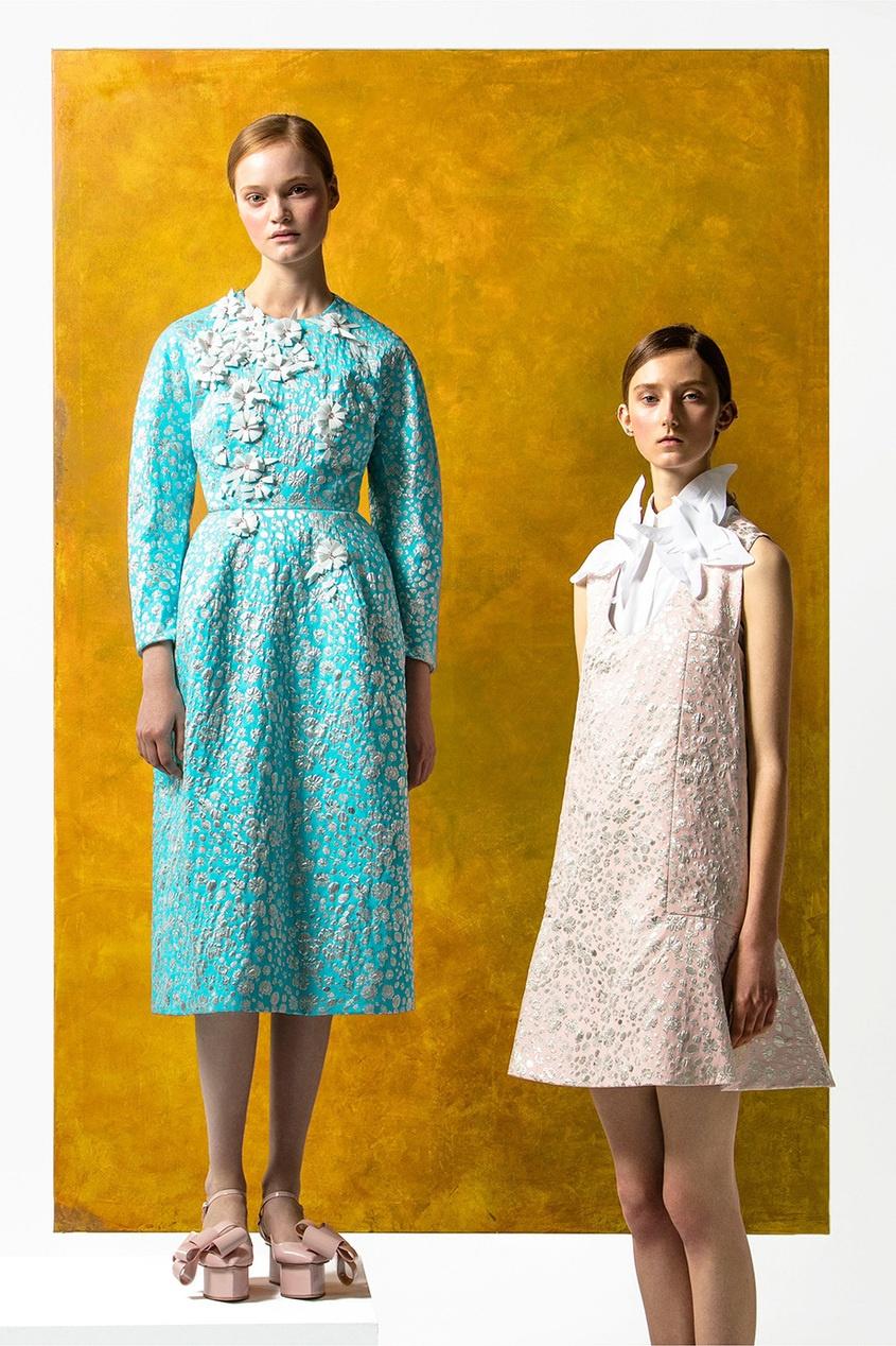 Delpozo Платье из жаккарда