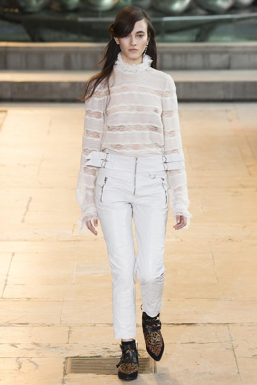 Шелковая блузка Sondra