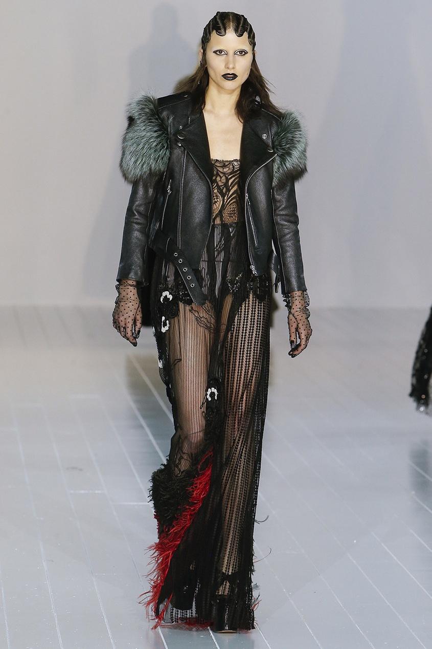 Marc Jacobs Полупрозрачное платье