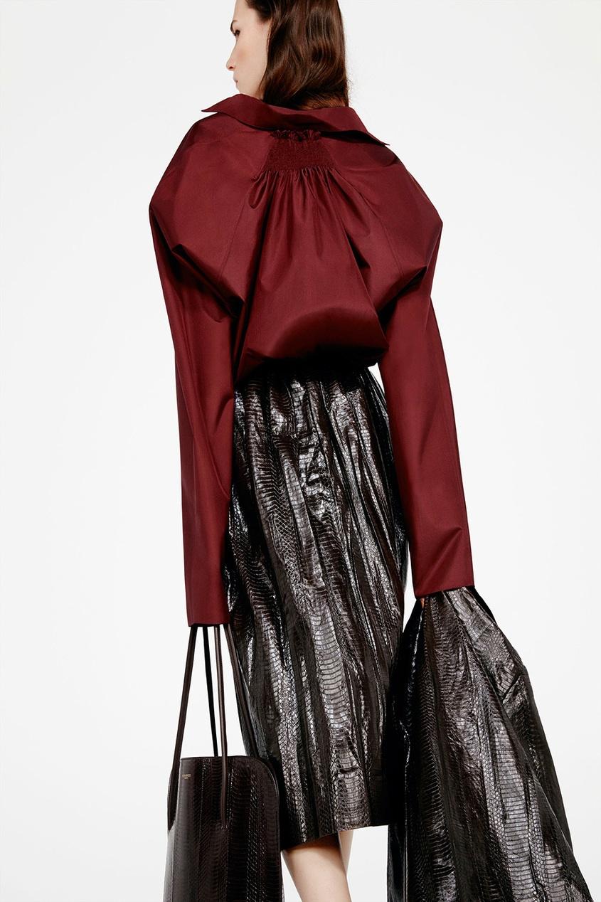 Шелковая блузка