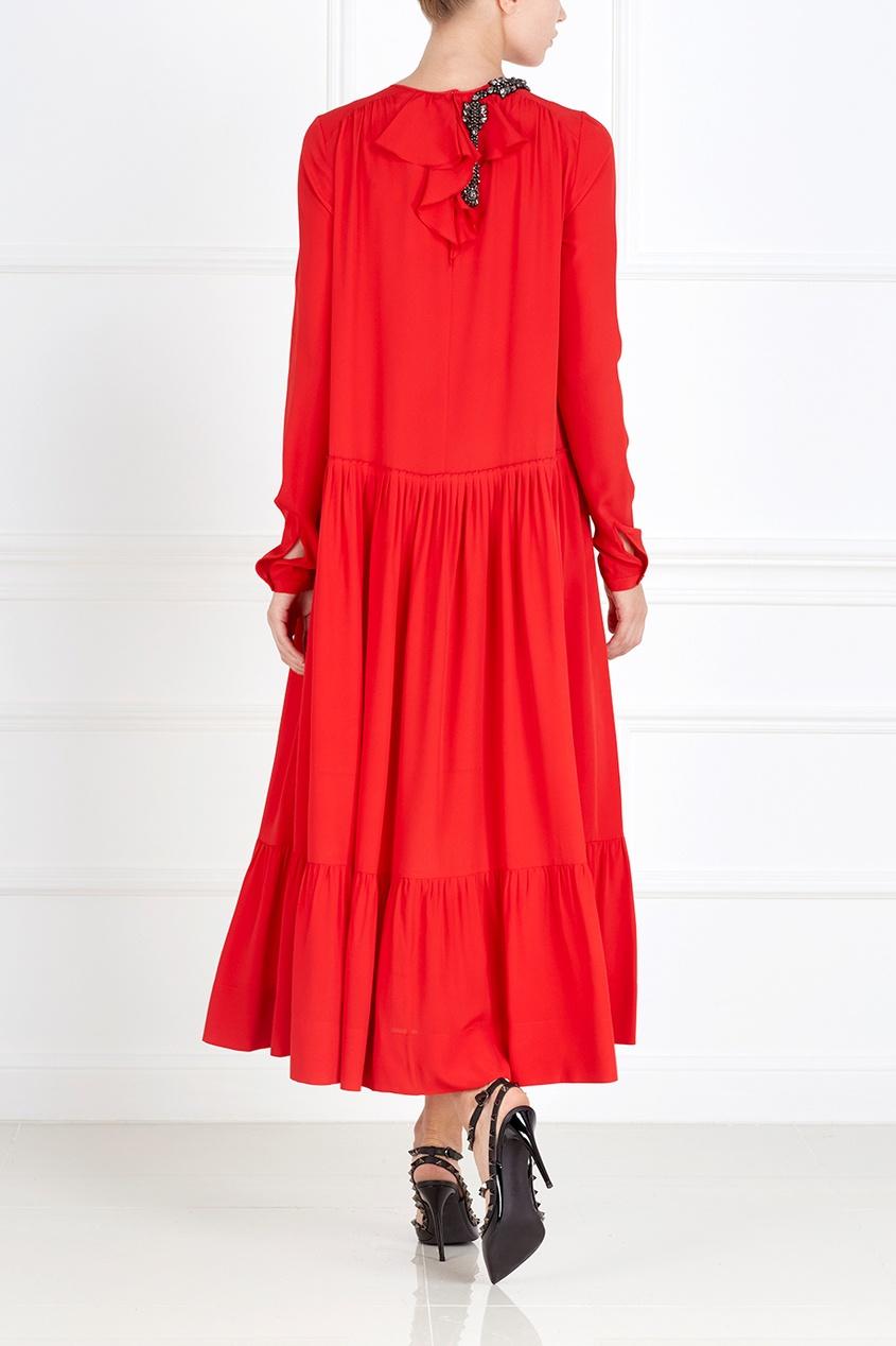 Платье со стразами от AIZEL