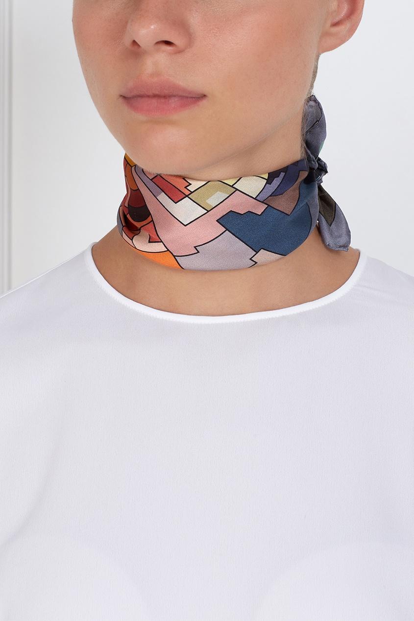 Шелковый платок «Астры» от AIZEL